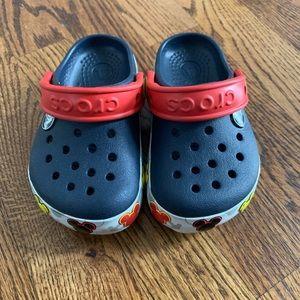LIGHT UP Mickey crocs!!